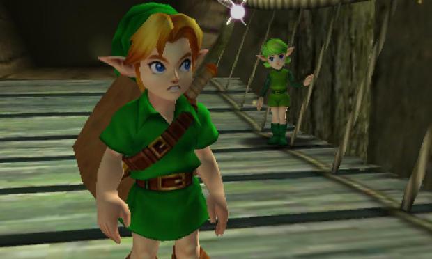 Ocarina of Time Saria Link